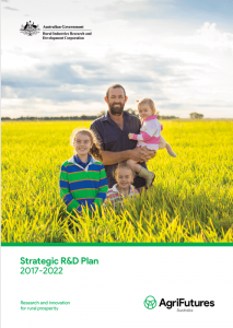 AgriFutures Australia Strategic R&D Plan 2017 - 2022 - image