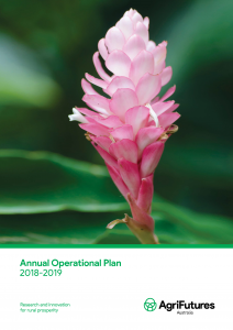 AgriFutures Australia Annual Operational Plan 2018-2019 - image