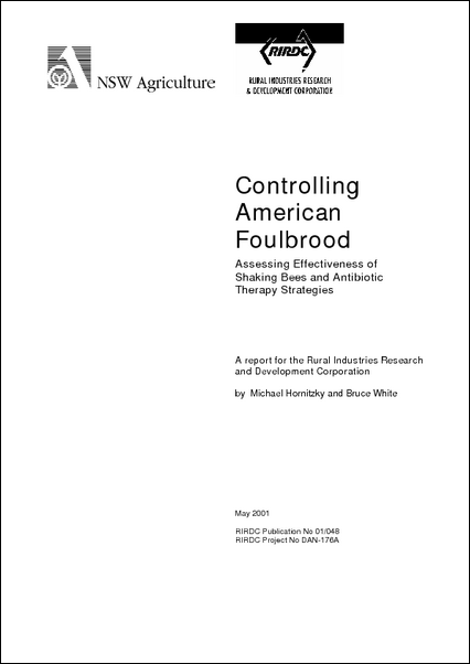 Controlling American Foulbrood - image