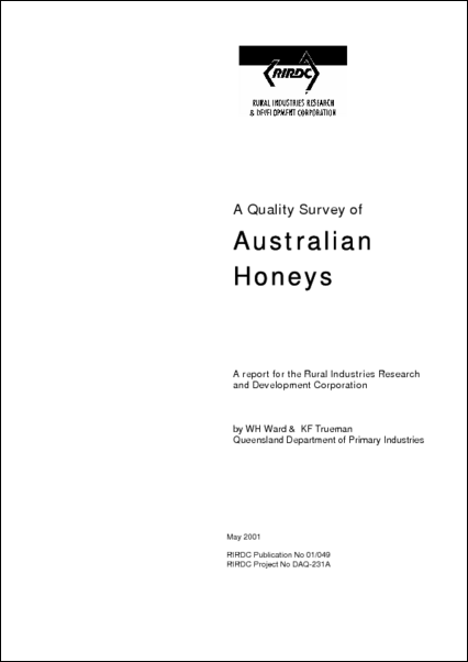 A Quality survey of Australian Honeys - image