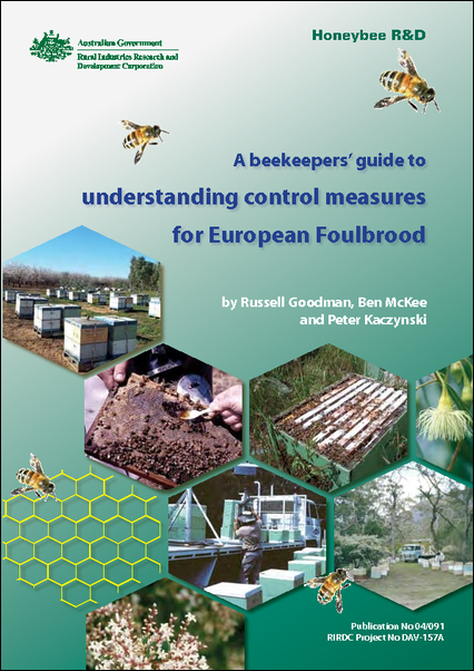 An beekeepers' guide understanding control measures for European foulbrood - image