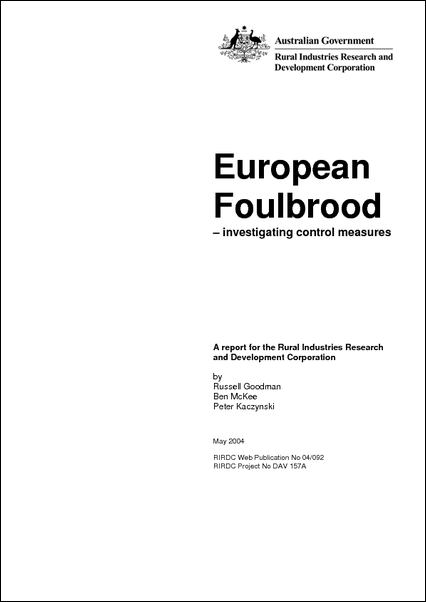 European Foulbrood - investigating control measures (Web only) - image