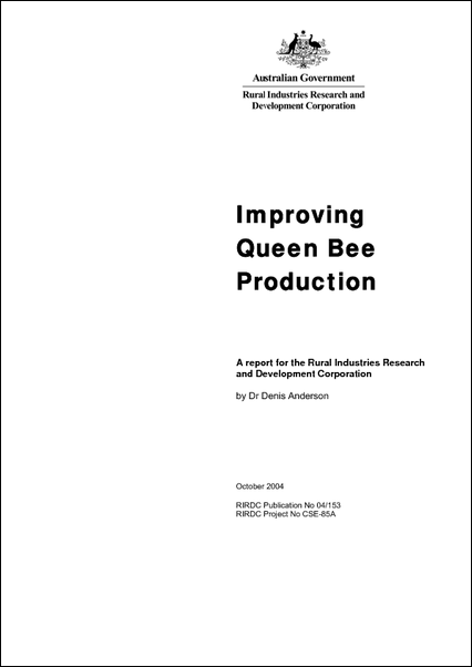 Improving Queen Bee Production - image