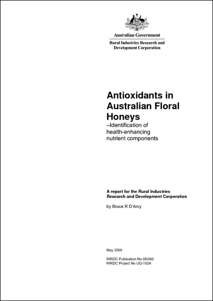 Antioxidants in Australian Floral Honeys - image
