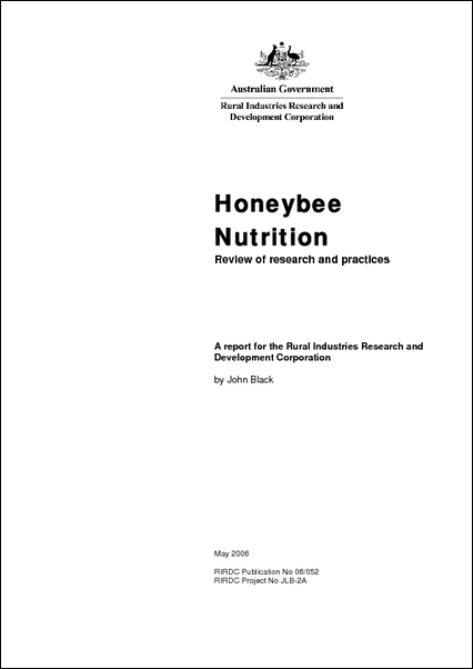 Honeybee Nutrition: Review of research and practices - image