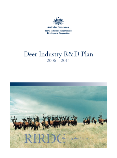 Deer Industry R&D Plan 2006-2011 - image