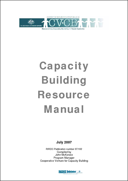 Capacity Building Resource Manual - image