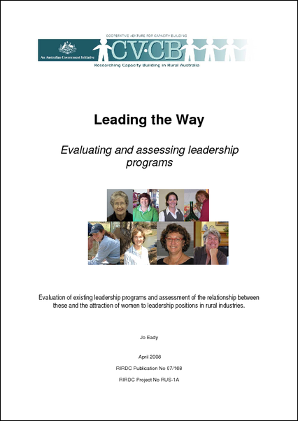 Leading the Way: Evaluating and assessing leadership programs - image
