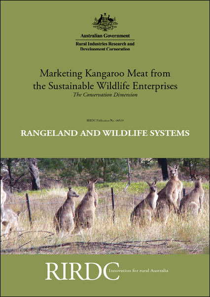 Marketing Kangaroo Meat from the Sustainable Wildlife Enterprises:  The Conservation Dimension - image