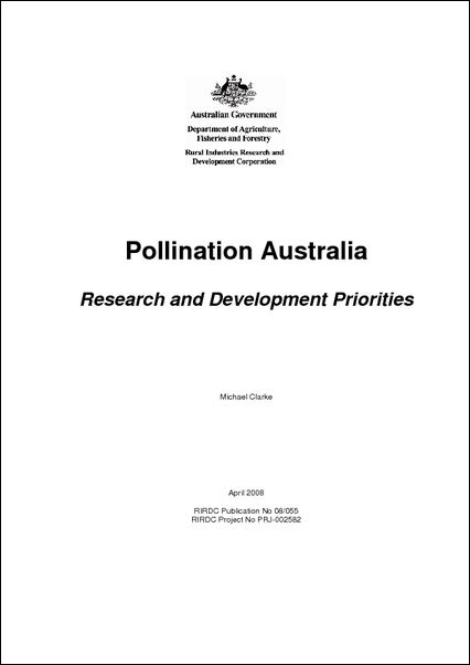 Pollination Australia: Research and Development Priorities - image