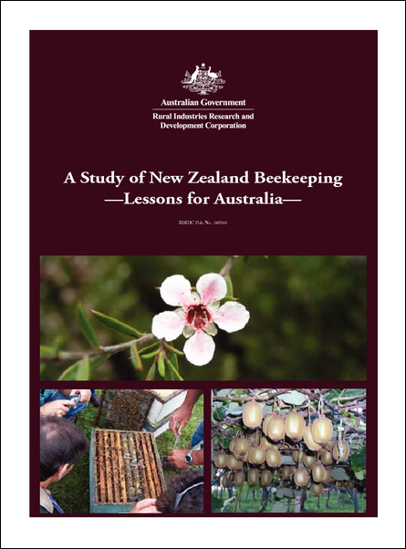 A Study of New Zealand Beekeeping - Lessons for Australia - image