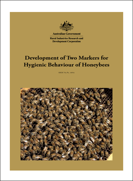 Development of Two Markers for Hygienic Behaviour of Honeybees - image
