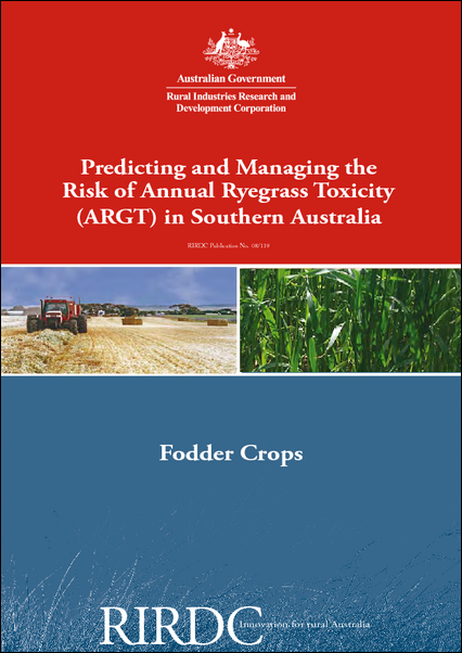 Predicting and Managing the Risk of Annual Rye Grass Toxicity (ARGT) in Southern Australia - image