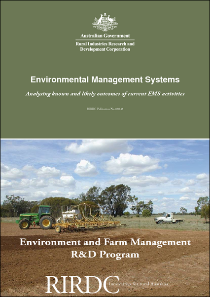 Environmental Management Systems - Analysing known and