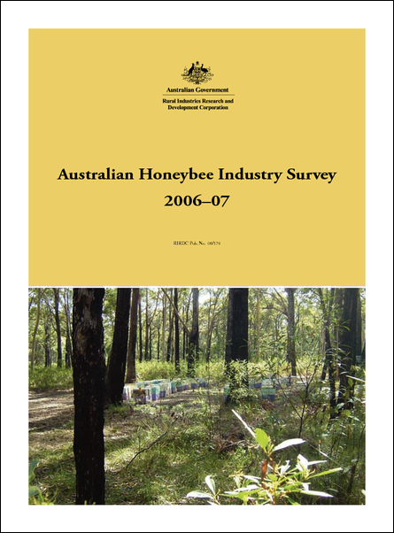 Australian Honeybee Industry Survey 2006-07 - image