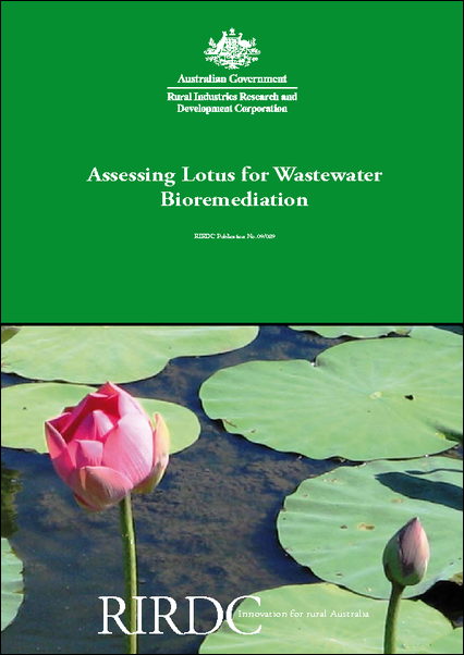 Assessing lotus for wastewater bioremediation agrifutures australia share this content mightylinksfo