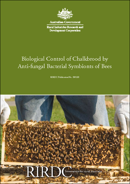 Biological Control of Chalkbrood by Anti-fungal Symbionts of Bees - image