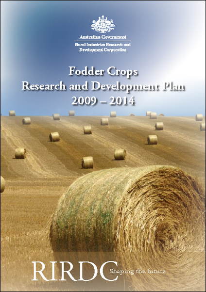 Fodder Crops Five-Year Research and Development Plan 2009–2014 - image