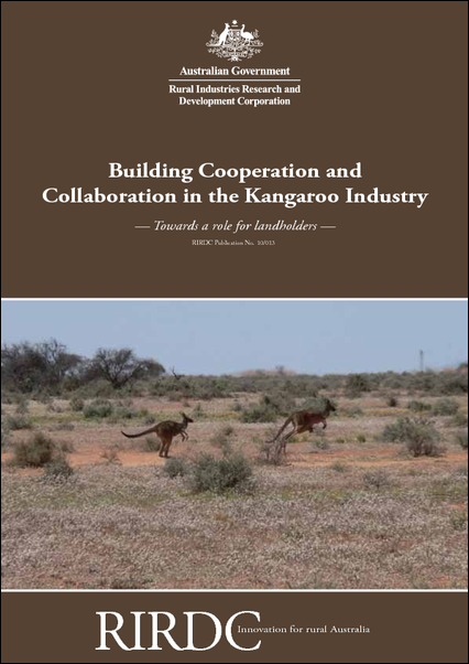 Building Cooperation and Collaboration in the Kangaroo Industry: - image