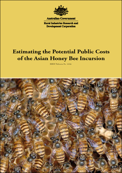 Estimating the Potential Public Costs of the Asian Honeybee Incursion - image
