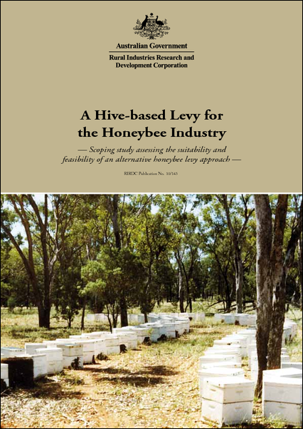 A Hive-based Levy for the Honeybee Industry - image