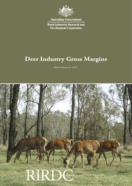 Deer Industry Gross Margins - image