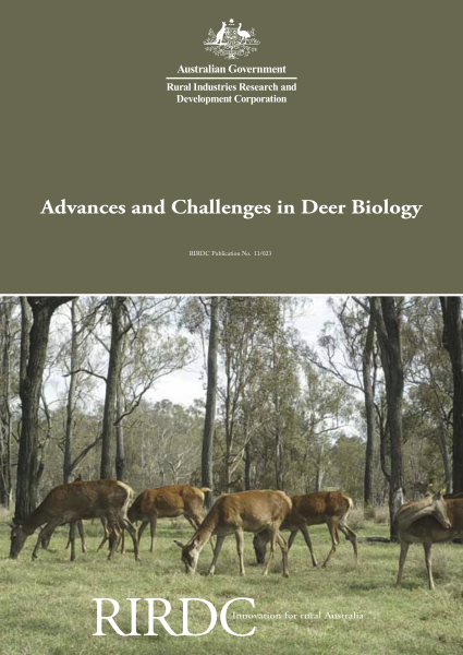 Advances and Challenges in Deer Biology - image