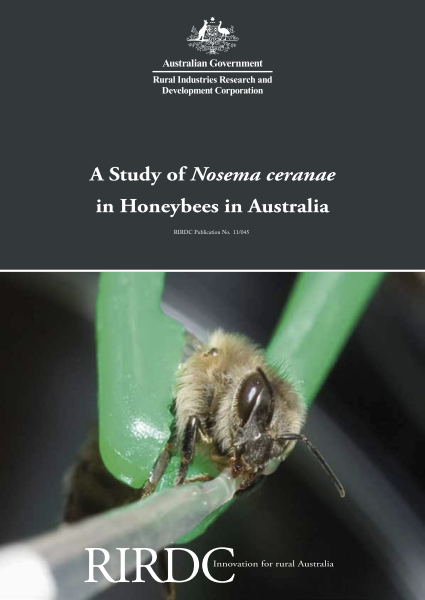 A Study of Nosema ceranae in Honeybees in Australia - image
