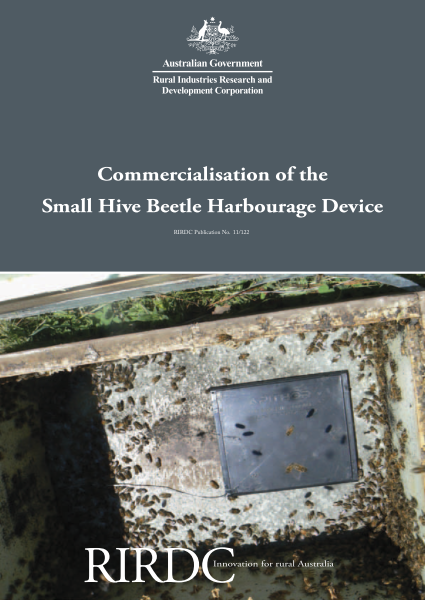 Commercialisation of the Small Hive Beetle Harbourage Device - image