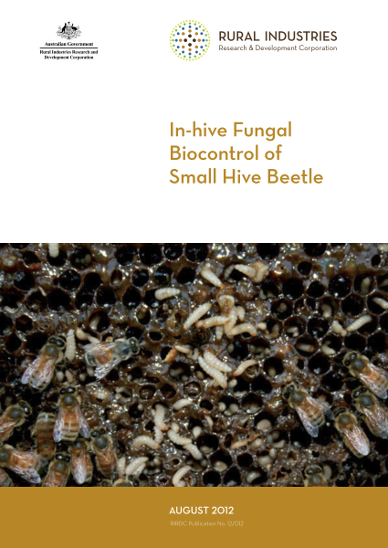 In-hive Fungal Biocontrol of Small Hive Beetle - image