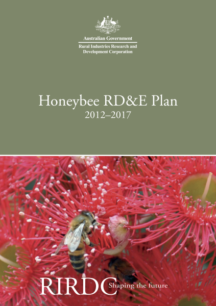 Honeybee RD&E Plan 2012 to 2017 - image