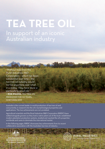 Tea Tree Oil: In support of an iconic Australian industry - image