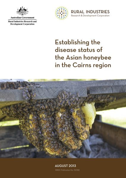 Establishing the disease status of the Asian honeybee in the Cairns region - image