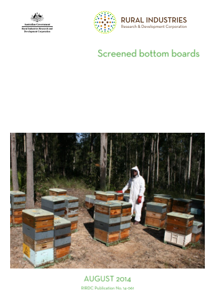 Screened bottom boards - image