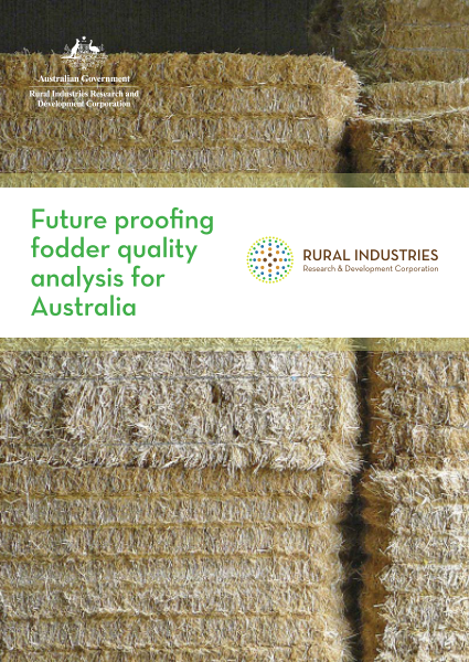 Future Proofing Fodder Quality Analysis For Australia - image