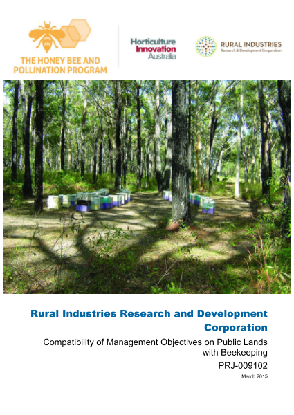 Compatibility of management objectives on public lands with beekeeping - image