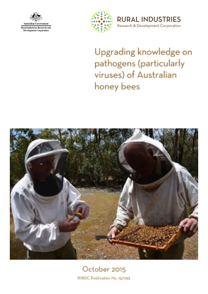 Upgrading knowledge on pathogens (particularly viruses) of Australian honey bees - image
