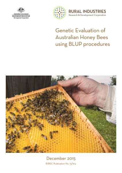 Genetic Evaluation of Australian Honey Bees using BLUP procedures - image