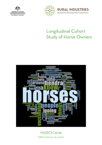 Longitudinal cohort study of horse owners - image