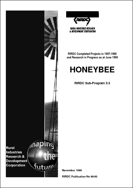Research in Progress - Honeybee 1997-1998 - image
