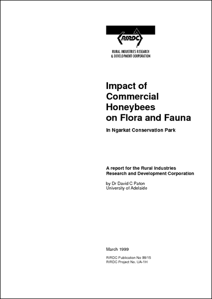 Impact of commercial honeybees on flora and fauna - image