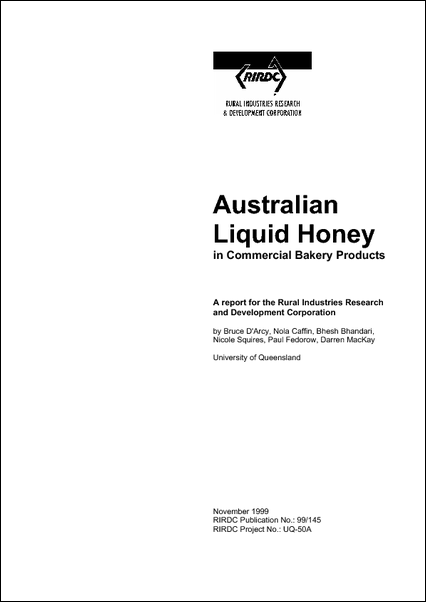 Australian liquid honey - image