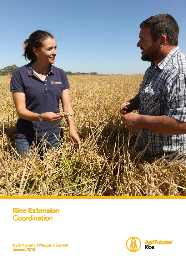 Rice Extension Coordination - image