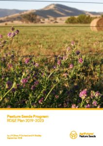 Pasture Seeds Program RD&E Plan 2019-2023 - image