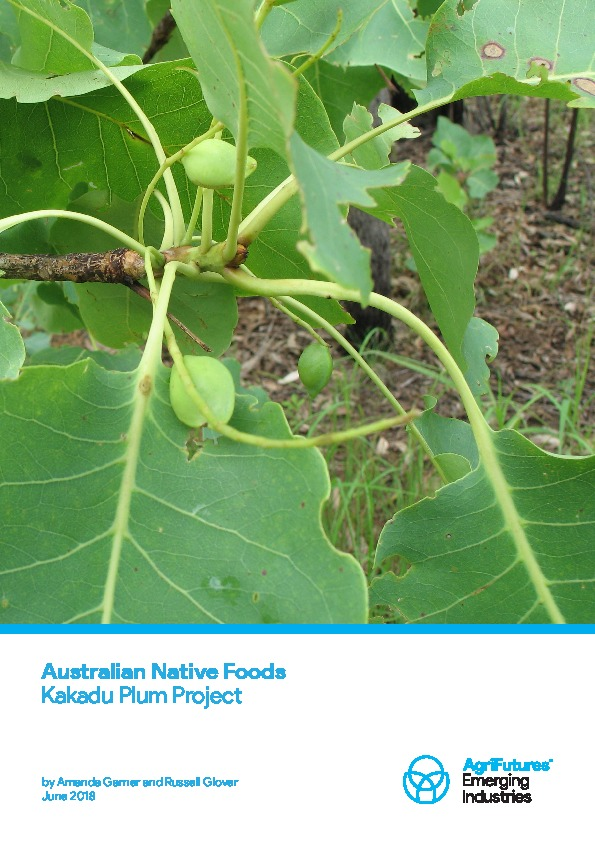 Australian Native Foods Kakadu Plum Project - image