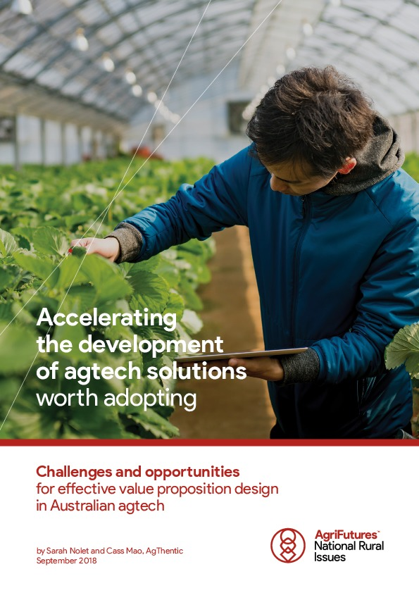 Accelerating the development of agtech solutions worth adopting - image