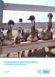 Development of game birds welfare standards and guidelines - image