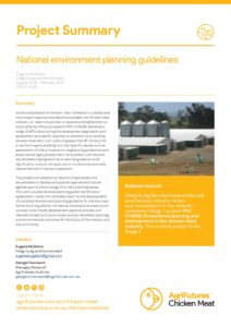 Project Summary: National environment planning guidelines - image
