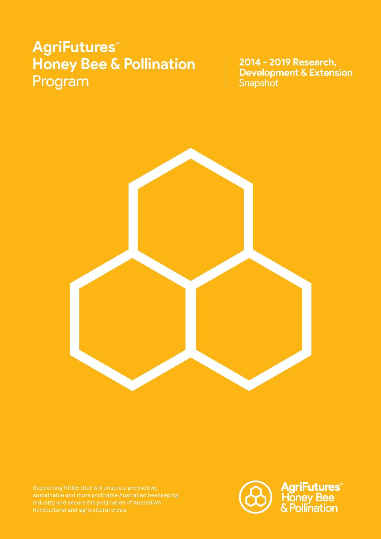 AgriFutures™ Honey Bee & Pollination Program 2019 Snapshot - image