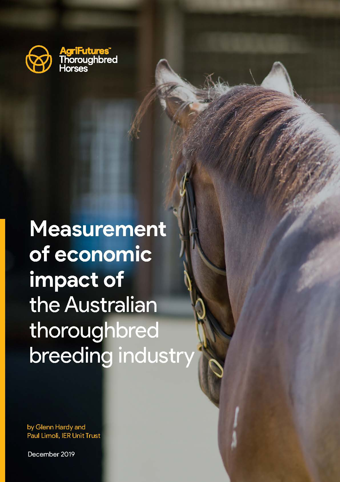 Measurement of economic impact of the Australian thoroughbred breeding industry - image